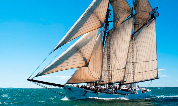 The Black Dog Tall Ships - The Black Dog Tall Ships: $99 for a Day or Sunset Sail for Two at The Black Dog Tall Ships ($150 Value)