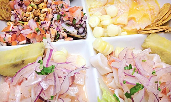 Mama Irma Restaurant - Fountain Square: Peruvian Food and Drinks at Mama Irma Restaurant (45% Off). Two Options Available.