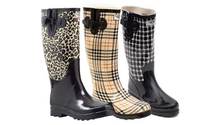 Women's Rubber Rain Boots: Women's Rubber Rain Boots