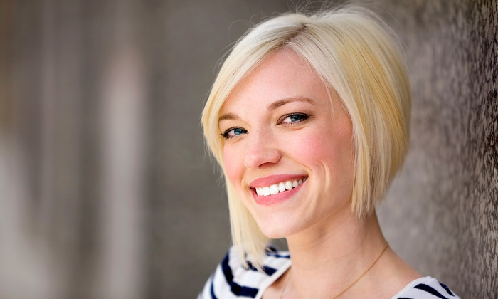 Shear Salon - Wyoming: Haircut Package with Optional Highlights or Color at Shear Salon (Up to 52% Off). Three Options Available.