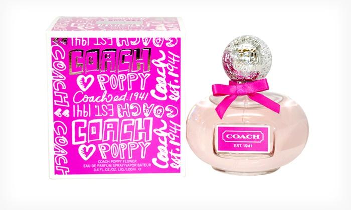 Womens coach poppy flower fragrance groupon product details mightylinksfo