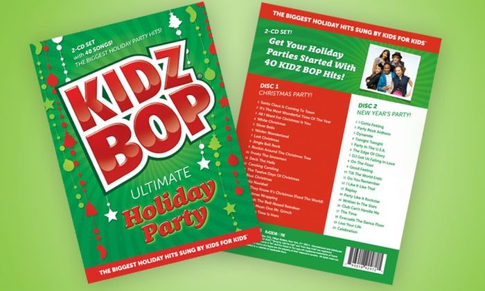 Kidz Bop Ultimate Holiday Party 2-CD Set: Kidz Bop Ultimate Holiday Party 2-CD Set with 40 Songs