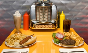 American City Diner: $18 for Three Groupons, Each Good for $12 Worth of Classic Diner Food at American City Diner ($36 Value)