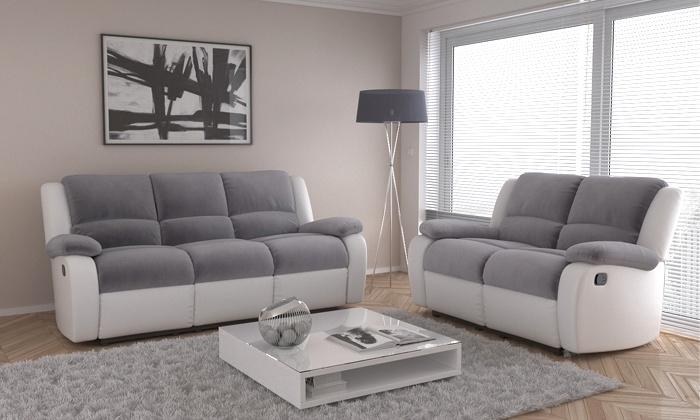 fauteuils 3 places et 3 2 places groupon shopping. Black Bedroom Furniture Sets. Home Design Ideas