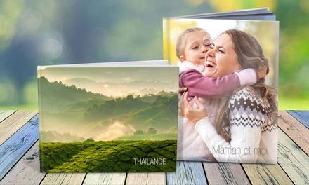 Livre photo A4, paysage ou portrait, de 26, 50 ou 98 pages avec Atelier du Livre dès 9,99 € (jusquà 75% de remise)