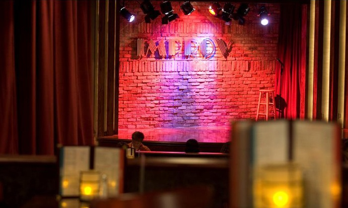 The Improv Comedy Club - Chicago Improv of Schaumburg: Standup Package for Two or Four with Appetizers at The Improv Comedy Club (Up to 81% Off)