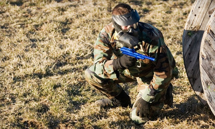 RHC Paintball Fields - Richmond: Paintball Package with Equipment Rental and Paintballs for Two, Four, or Eight at RHC Paintball Fields (51% Off)