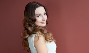 Strickly Fab: Haircut, Blow-Dry, and Conditioning with Optional Single-Process Color or Root Touchup at Strickly Fab (Up to 54% Off)