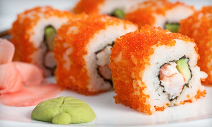 Soya Sushi Bar & Bistro - Norfolk: Japanese Cuisine and Sushi at Dinner at Soya Sushi Bar & Bistro (Half Off). Two Options Available.