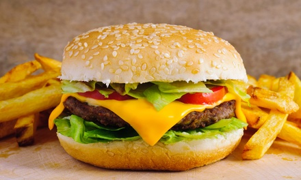 Burgers and Tex-Mex at TG's Cravings (35% Off). Three Options Available.
