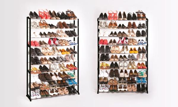 1 Ou 2 Meubles Range Chaussures 50 Paires Avec Ou Sans Housse Des 19 90