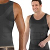 Insta Trim Men's Compression and Body-Support Undershirt