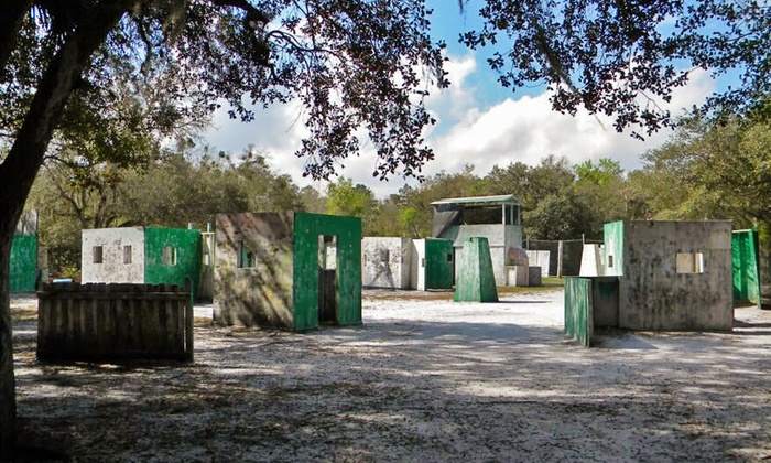 Battlefield Orlando - Bithlo: Paintball for One or Two at Battlefield Orlando (Up to 31% Off)