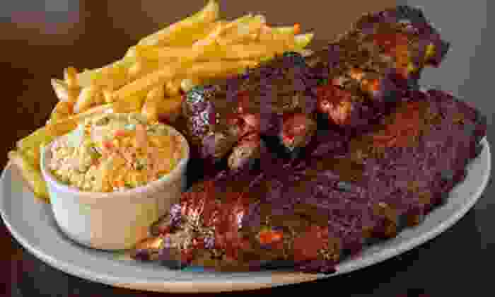 Hickory River Smokehouse - Glendale Heights: Barbecue Food and Drinks for Two or Four at Hickory River Smokehouse (Half Off)
