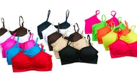 GROUPON: 5-Pack of Seamless Women's Bralettes 5-Pack of Seamless Women's Bralettes