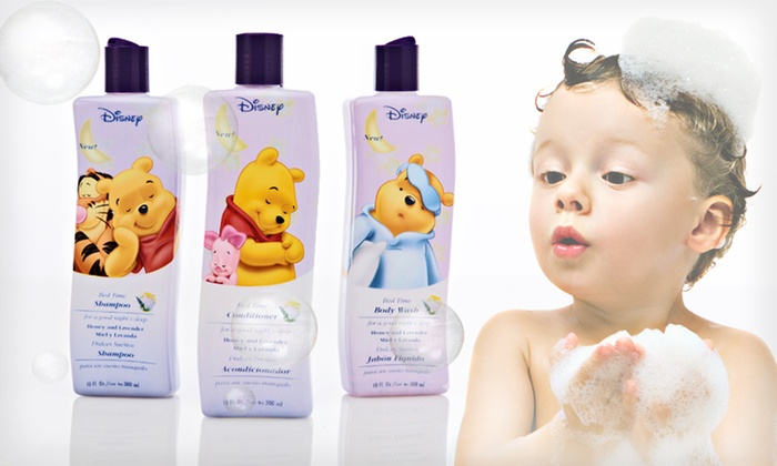 Winnie the Pooh Bed Time Bath Trio: $14 for a Winnie the Pooh Bed Time Bath Trio with Shampoo, Conditioner, and Body Wash ($26.97 List Price)