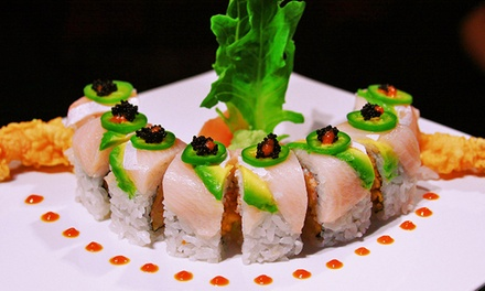 $15 for $30 Worth of Sushi and Japanese Food at Jimmy's Sushi Restaurant