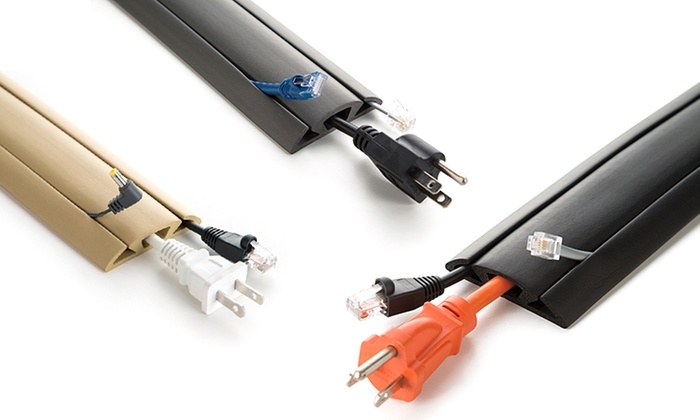 ut wire floor cord protector | groupon goods