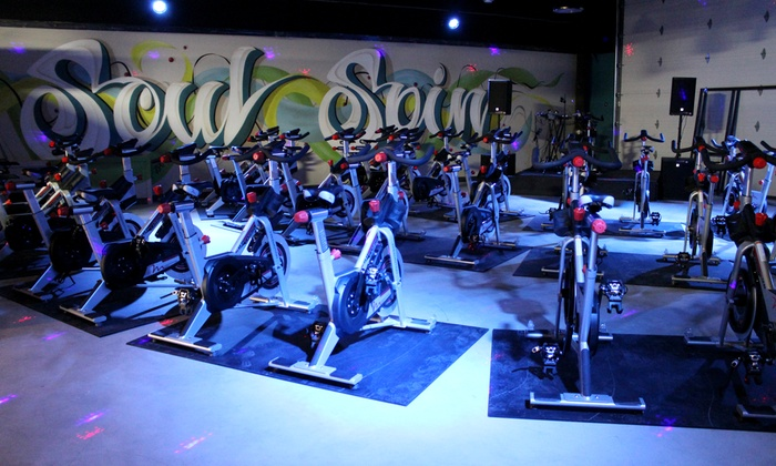 Soulspin - Sherwood Park: 10 or 20 Spin Indoor-Cycling Classes, or One Month of Unlimited Spin Classes at Soulspin (Up to 54% Off)