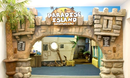 Paradise Island Adventure Golf Sheffield