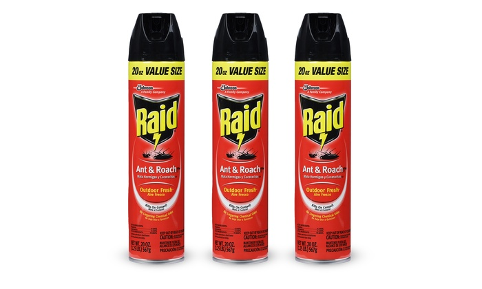 Raid Ant Amp Roach Killer 3 Pack Groupon