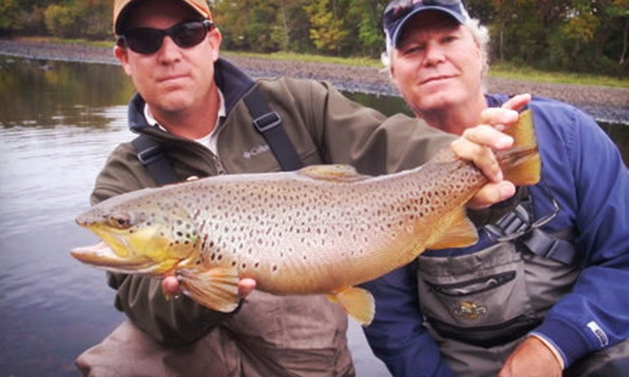 Flys and Guides - Ravenwood South: $129 for a Four-Hour Guided Fly-Fishing Trip on Lake Taneycomo for Two from Flys and Guides ($275 Value)