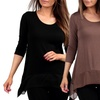 Women's Soft 3/4 Sleeve Tunic