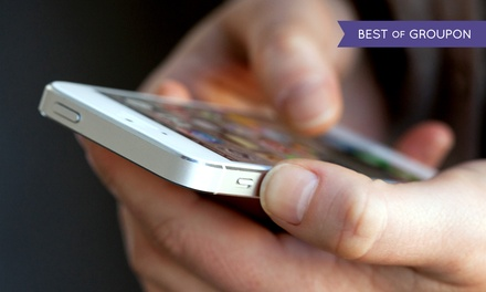 Phone Repairs or iPhone 5/5c/5s Screen Repair at CPR Cell Phone Repair (Up to 67% Off). 11 Locations Available.
