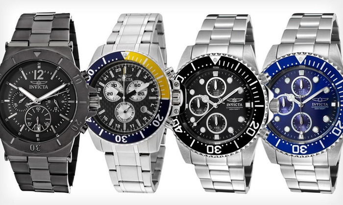 Invicta Men's Watches: Invicta Men's Watch (Up to 92% Off). Seven Options Available. Free Shipping and Free Returns.