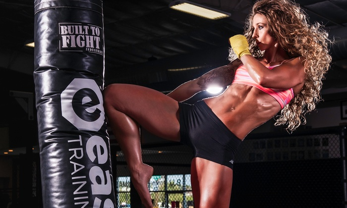 Easton Training Center - Multiple Locations: Two or Four Weeks of Unlimited Kickboxing Classes at Easton Training Center (90% Off)