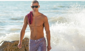 LunchBOX (A WAXING SALON) : $28 for Men's Chest or Back Wax at LunchBOX (A Waxing Salon) ($55 Value)