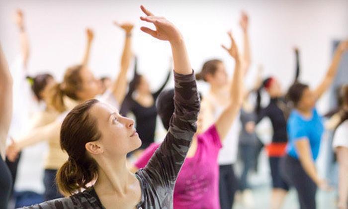 Lou Conte Dance Studio - Near West Side:  5 or 10 Classes at Lou Conte Dance Studio (Up to 61% Off)