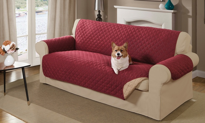 Reversible Pet Sofa Cover