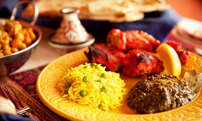 Tiranga Cafe - Fremont: $15 for an Indian Dinner for Two with Dessert and Soda at Tiranga Cafe (Up to $30.94 Value)
