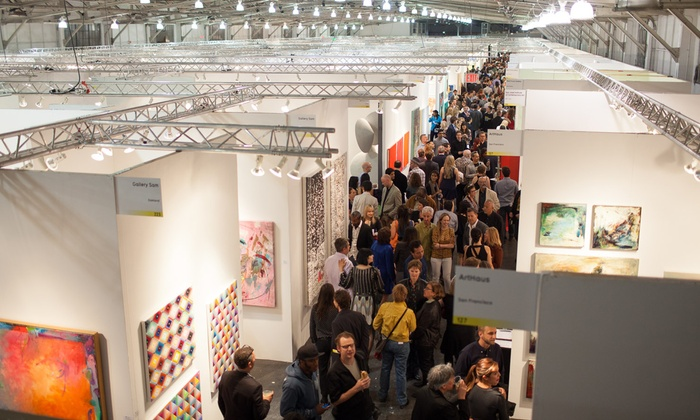 Art Market San Francisco -  Fort Mason Center: Art Gallery Admission or Fair Pass for Two or Four at Art Market San Francisco (Up to 50% Off)