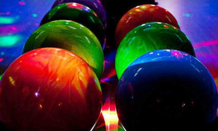 Spins Bowl - Mount Kisco: One Hour of Bowling with Drinks and Appetizer for Two or Up to Five at Spins Bowl in Mount Kisco (Up to 56% Off)