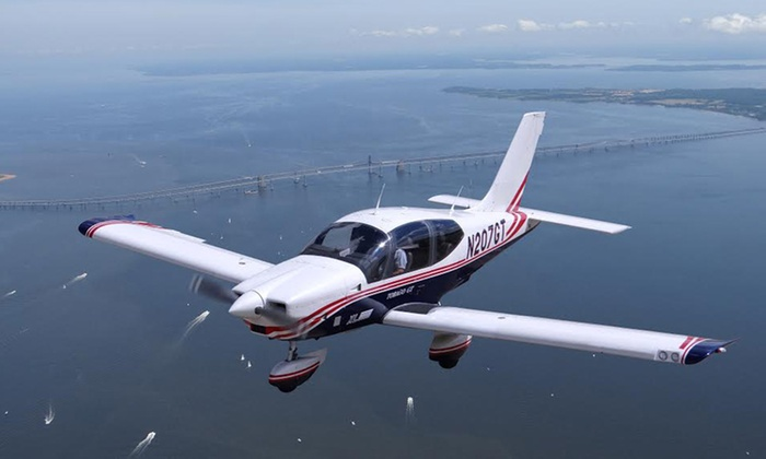 1World Aero LLC - Fort George G Meade: $299 for Private One-Hour Harbor and Bay Flight Tour for Up to Three at 1World Aero LLC ($499.99 Value)