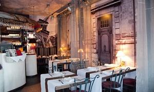 Restauracja Saint Jacques: Francja na widelcu: uczta dla dwojga od 89 zł w Restauracji Saint Jacques na Świętokrzyskiej (do -36%)