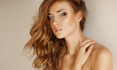 Haircut and Style with Deep-Conditoning Treatment or Color Touchup at Hair & Skin Logics (Up to 48% Off) 01716d50-72f8-41ea-a5f0-5ef62d4ea84e