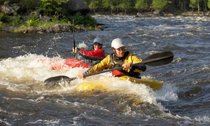 White Water Learning Center of Georgia: Half-Day Whitewater Kayaking Trip for One or Two at White Water Learning Center of Georgia (Up to 53% Off)