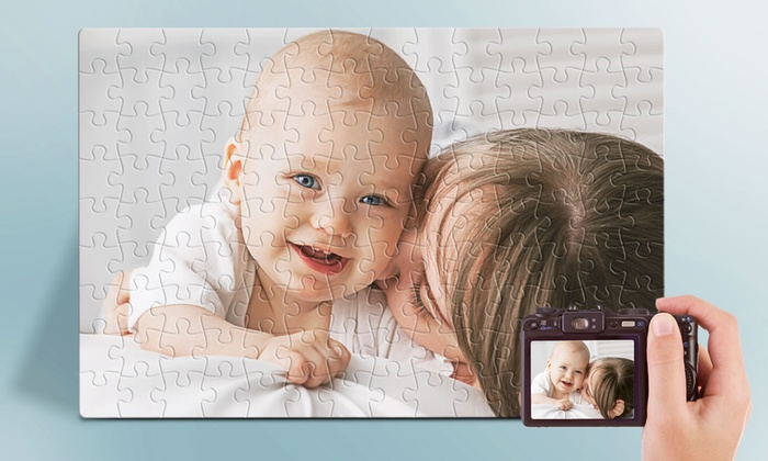 Printerpix: Custom Photo Puzzle from Printerpix (Up to 68%Off). Three Options Available.