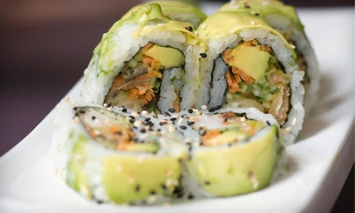 Fujimi Sushi and Japanese Steak House - Matthews: $12.50 for $25 Worth of Sushi and Hibachi-Style Japanese Food at Fujimi Sushi and Japanese Steak House