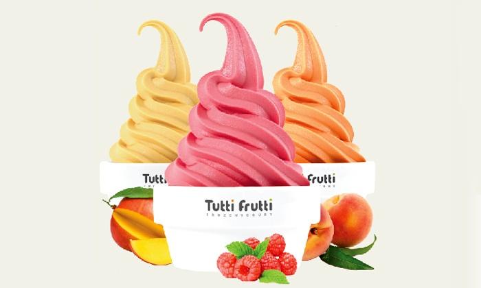 9157c346691 35% Off Frozen Yogurt and Dippin Dots at Tutti Frutti