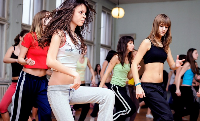 Four Zumba Classes at a Choice of Eleven Locations with Dance & Health (60% Off)