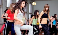 Four Zumba Classes at a Choice of Eight Locations with Dance & Health (60% Off)