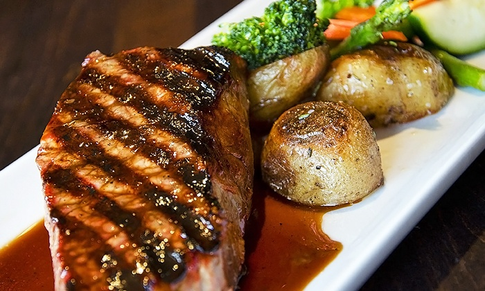 Social 242 Lounge and Grill - Central City: Dinner for Two or Four, or $100 Gift Certificate at Social 242 Lounge and Grill (Up to 39% Off)
