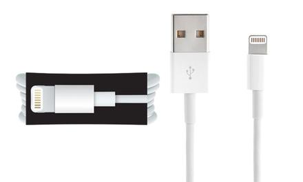 1 ou 2 câbles USB Apple Lightning® original – Iphone 5 à X – Ipad – Emballage neutre