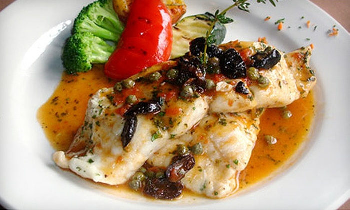 La Piazza Dario - Vancouver: Italian Cuisine for Lunch or Dinner at La Piazza Dario (Up to 52% Off)