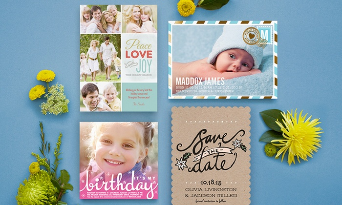 SimplytoImpress: Custom Cards, Invitations, and Announcements from SimplytoImpress (Up to 55% Off). Two Options Available.