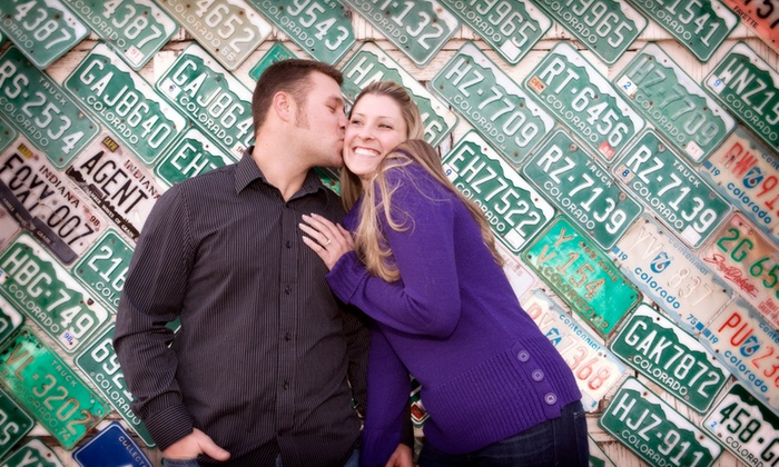 Heirloom Imagery - Denver: 60-Minute Engagement Photo Shoot from Heirloom Imagery (70% Off)